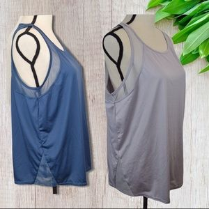 2 Xersion Loose Fitting Tank Tops, X-Large